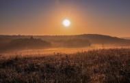 美妙的田园日出风景图片(13张)
