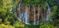 山间瀑布图片(16张)