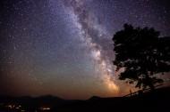 璀璨的星空图片(9张)