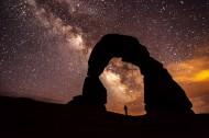 美国犹他州夜空的繁星点点图片(14张)