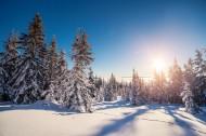 北方山林雪景图片(19张)