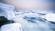 冬天的大海风景图片(11张)