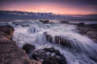 海边岩石景色图片(13张)