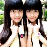 清纯可爱的双胞胎姐妹微信头像图片