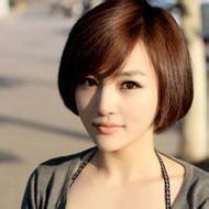 非主流可爱短发女生个性头像图片