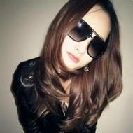戴墨镜的非主流霸气女生个性头像图片